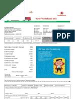 Vodafone Bill Nov. Month