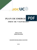 Examen Encargo Interpretación de Planos