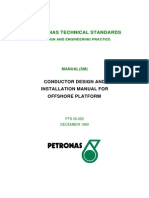 Conductor Design and Installation Maula for Offshore Platform