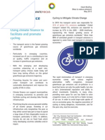 Cycling Climate Finance Briefing