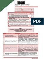 VIII Sessão - 1ª Tarefa – distinguir descrição de avaliação