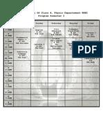Schedule Smtr 1