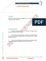 Informe Cbr , Proctor Modificado y Cbr