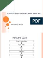Arsitektur Sistem Manajemen Basis Data (1)