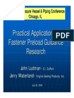 Presentation Pvp 2008 Fastener Preload Guidance
