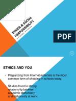 Ethics in Strategic Management