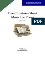 Free Christmas Sheet Music for Piano