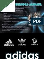 Diapositiva de Adidas Final