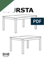 Bjursta Extendable Table AA 228245 11 Pub