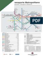Mapa Metro Trem