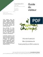 Guide Du Visiteur a Travers Champs Grignan