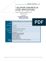 Quantification Methodology for the Use of Sulphur Concrete in Precast Applications (First Assessment Version)_0