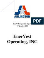 EnerVest 1st Quarter Inspection Reports 2014