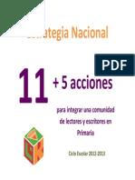 11+5 estrategias de lectura