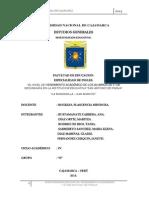 Titulo de La Investigacion IV Ciclo Unc