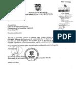Informe Para Primer Debate Del Proyecto de Coìdigo Orgaìnico General de Procesos