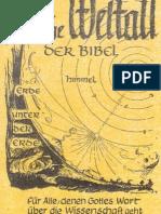 Fritz Braun-Das dreistöckige Weltall der Bibel