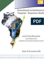 Desenvolvimento Da Infra-estrutura de Transportes