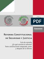 Reforma Constitucional Materia Penal Arts. 16-22