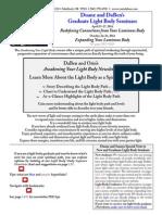Light Body Newsletter