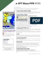 Cara Pengisian SPT Masa PPN 2011