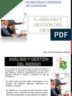 6 Análisis y Gestión Del Riesgo