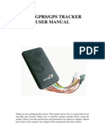 TK100 GPS Tracker User Manual | General Packet Radio Service