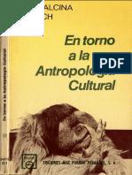 Alcina Franch (1975) En torno a la antropología cultural