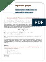 Aproximación de Poisson a la distribución binomial.docx