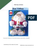 Molde Papa Noel 1