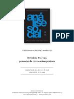 Soromenho-Marques - Hermínio Martins