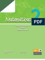 Secuencias Didácticas Matemáticas. Segundo grado. Bloque I