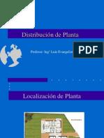 Disposición de Planta - Semana 4. 5, 6 y 7
