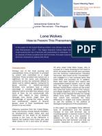 Expert Paper Bakker & de Graaf Lone Wolves
