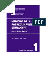 Pobreza Infantil Uruguay DTI P