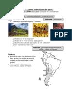 Guía de apoyo de los incas 4 basico