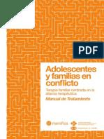 Adolescentes y Familias en Conflicto Manual de Terapia Familiar - Valentin Escudero