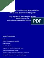 UK Sustainable Growth Agenda - South West of England
