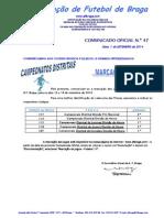 CO N.º 47 FUTEBOL 11_MARCAÇÃO DE JOGOS PARA 13 e 14 SETEMBRO 2014.pdf