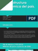 Estructura Económica de México