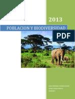 Poblacion y Biodiversidad Ecologia