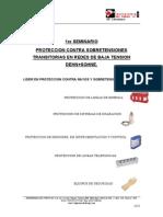 Seminario Proteccion Contra Sobretensiones Trasitorias en Redes de b t