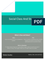 Leaflet for class and status