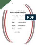 Maquinaria Agricola Informe