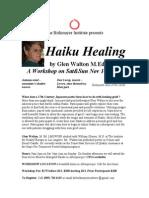 Haiku Healing Nov 1-2 2014
