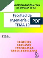 Formulas de Bogue y Cementos Peruanos