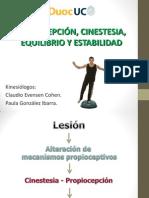 Clase Nº11 - Propiocepción