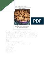 Cookies Light Con Pepitas de Chocolate Negro