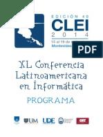 Program Cle i 2014