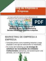Marketing de Empresa a Empresa